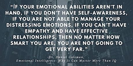 Emotional Intelligence as a key leadership skill tickets