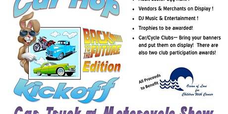Car Hop Kickoff Car, Truck, & Cycle Show - Back to the Future tickets