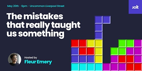 Jolt Sofa Sessions: The Mistakes That Really Taught Us Something tickets