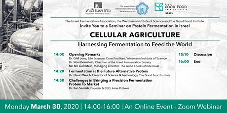 Virtual Event: Harnessing Fermentation to Feed the World tickets