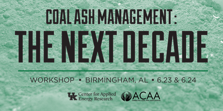Coal Ash Management:  The Next Decade tickets
