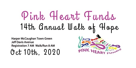 Copy of Pink Heart Funds 14th Annual Walk of Hope & 5K Run tickets