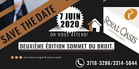 SOMMET Du DROIT 2020 tickets
