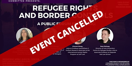 REFUGEE RIGHTS  AND  BORDER CONTROLS: A FORUM tickets