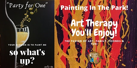 Painting In The Park (Art Therapy) Session II tickets