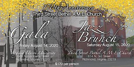 Third Street Bethel A.M.E. Church 170th Anniversary Weekend tickets
