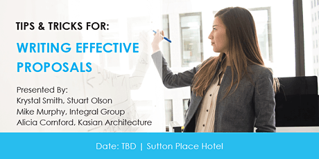 Writing Effective Proposals tickets