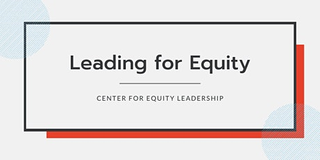 Leading for Equity, Nonresidential | Virtual: June 18-19, 2020 tickets