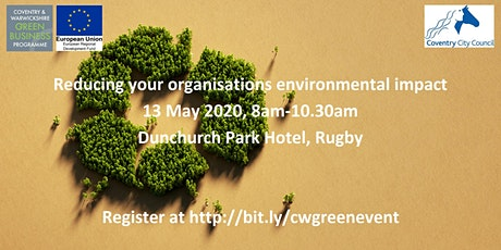 Reducing your organisations environmental impact tickets