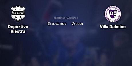 2020+>[VIVO] Deportivo Riestra v Villa Dálmine en viv y E.n Directo ver Par entradas