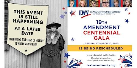 19th Amendment Centennial Gala tickets