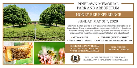 Pinelawn's Girl Scouts Honey Bee Experience tickets