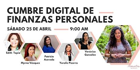 Cumbre Digital de Finanzas Personales entradas
