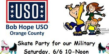 USO Military Skating Party  NEW DATE tickets