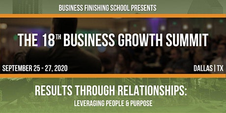The 18th Business Growth Summit tickets
