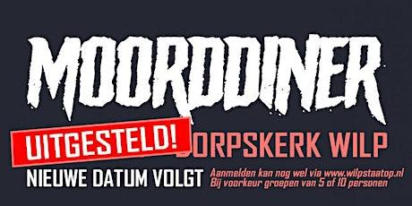 Moorddiner in de Dorpskerk (= Uitgesteld! Nieuwe datum volgt z.s.m.) tickets