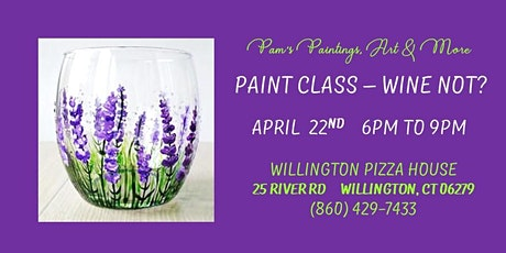 Paint Party - Wine NOT? tickets