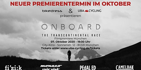 Onboard - The Transcontinental Race | Filmpremiere München Tickets