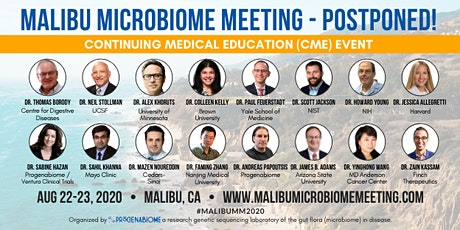 *POSTPONED* Malibu Microbiome Meeting - CME (Continuing Medical Education) tickets
