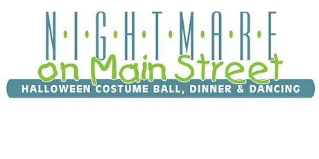 Nightmare on Main Street - Halloween Costume Ball, Dinner & Dancing tickets