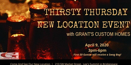 Cancelled-GCH Thirsty Thursday Event tickets