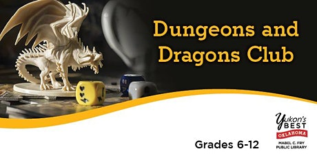 (CANCELLED) Dungeons and Dragons Club - April tickets