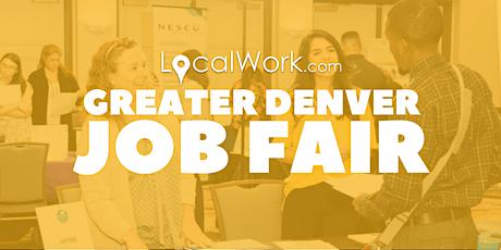 Greater Denver Job Fair | Multiple Colorado Companies Hiring! May 2020 tickets