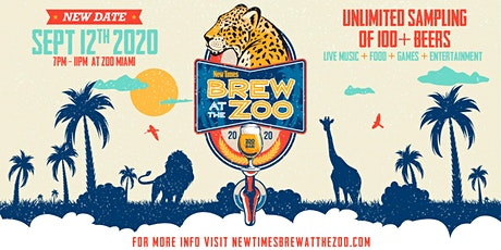 Miami New Times' Brew at the Zoo 2020 tickets