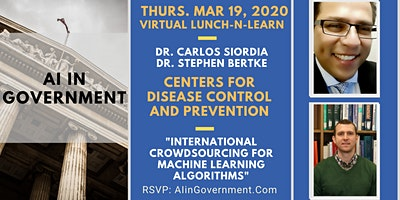 VIRTUAL AI in Government – Carlos Siordia, CDC and Stephen Bertke, CDC