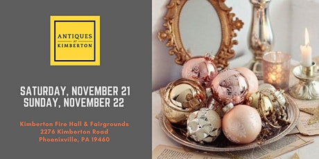 Antiques At Kimberton - Fall 2020 tickets
