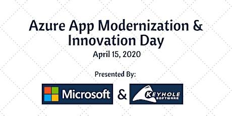 Azure App Modernization and Innovation Day - Remote tickets