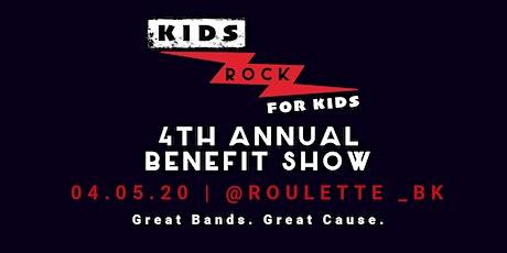 KIDS ROCK FOR KIDS Benefit - Amazing Teen / Kid Bands & Dancers tickets