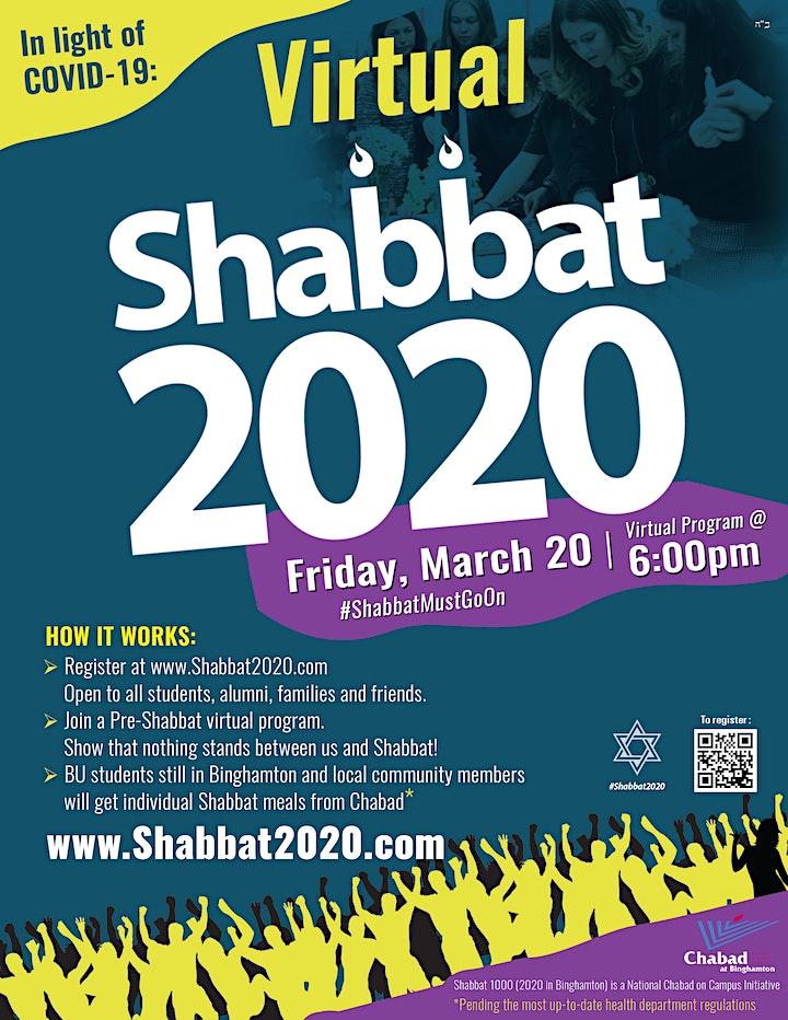 Shabbat 2020 image