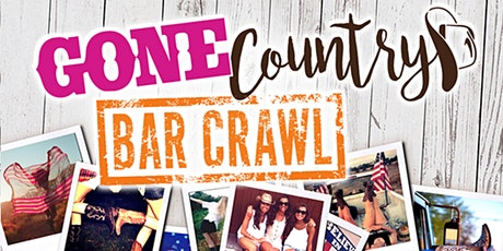 Gone Country Bar Crawl 2020 tickets