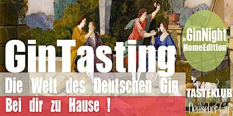GinNight Home Edition Das Gin Tasting bei dir Zuhause, wir kommen zu dir. Tickets