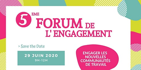 5ème Forum de l'Engagement billets