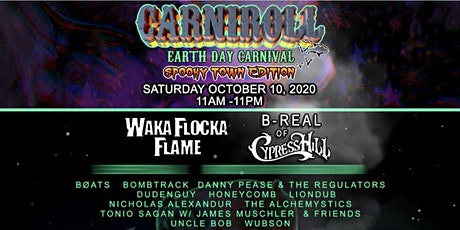 CarniRoll - Earth Day Carnival-Spooky Town Edition tickets