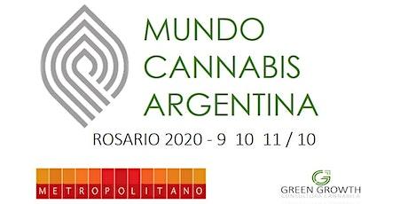 Mundo Cannabis Argentina Rosario 2020 entradas