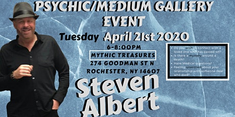 Steven Albert: Psychic Gallery Event - Mythic Treasures 4/21 tickets