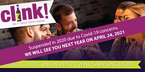 CANCELLED: CLINK! Sip + Savor Wine Market