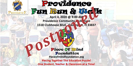 Piece of Mind Foundation - 5K Fun Run tickets