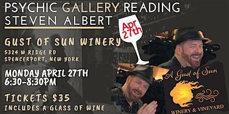 Steven Albert: Psychic Gallery Event - GustsofSun 4_27 tickets