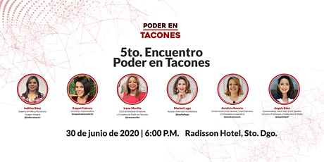 5to. Encuentro Poder en Tacones tickets