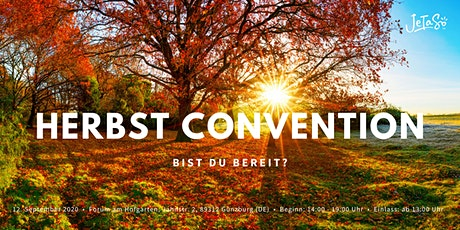 JeTaSo™  Herbst Convention Tickets
