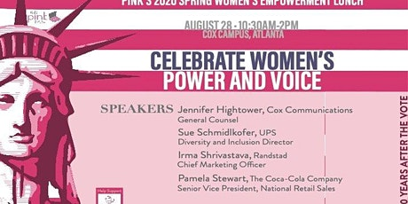 PINK's Spring Empowerment Lunch - Use Your Voice! tickets