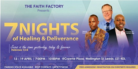 7 Nights of Healing and Deliverance tickets