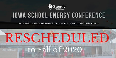 2020 Iowa School Energy Conference tickets