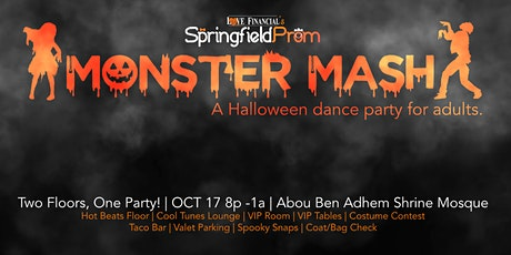 Monster Mash presented by Springfield Prom tickets