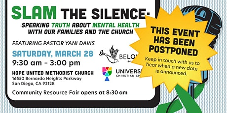 SLAM the Silence: Speaking Truth about Mental Health tickets