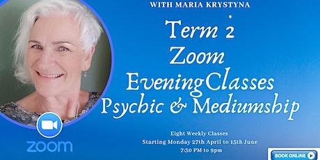 Term 2 - Evening Zoom Class tickets